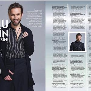 """Go Girl Dergisi Ekim Sayısı """"Doğukan Medetoğlu"""" Röportajı"""