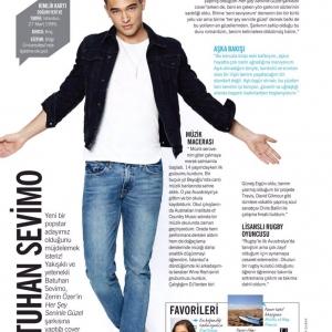 """Cosmopolitan Haziran Sayısı """"Batuhan Sevimo"""" Röportajı"""