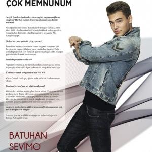 """Mall & Motto Dergisi Haziran Sayısı """"Batuhan Sevimo"""" Röportajı"""