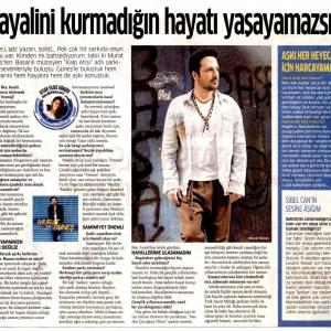 Akşam Gazetesi Aysun Yıldız Güngör'ün Murat Güneş Röportajı