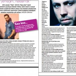 """Trendera Magazine Nisan Sayısı """"Bahadır Tatlıöz"""" Röportajı"""