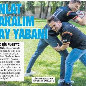Sabah Gazetesi / Günaydın Eki Oğuzhan Toracı'nın Batuhan Sevimo Röportajı