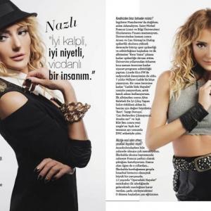"""Trendera Magazine Eylül Sayısı """"Nazlı"""" Röportajı"""
