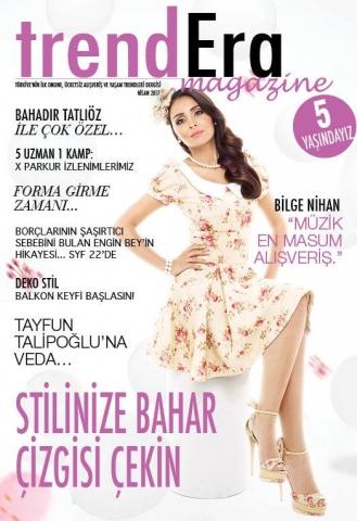 """Trendera Magazine Nisan Sayısı """"Bilge Nihan"""" Röportajı"""