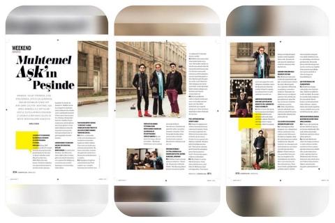 """Cosmopolitan Nisan Sayısı """"27"""" Röportajı"""