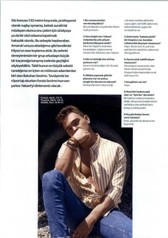 Cosmopolitan Dergis Temmuz 2018 Batuhan Sevimo Röportajı