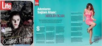"""Ankara Life Dergisi Ocak Sayısı """"Melis Kar"""" Röportajı"""